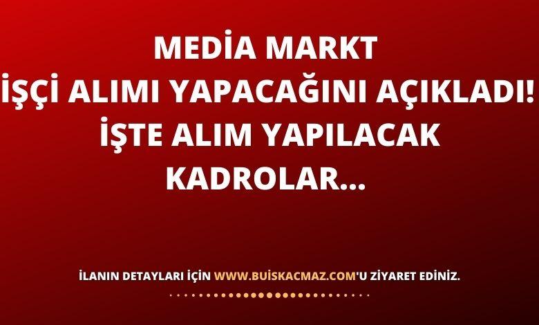 Media Markt İşçi Alımı Yapacağını Açıkladı!