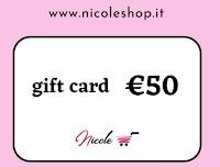 Nicole Shop San Valentino 2021 : vinci gratis Gift Card da 50€ e, per tutti il 10% di sconto sullo Store