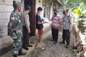 Polsek Mrebet Salurkan Bantuan Bagi Warga Terdampak Covid-19