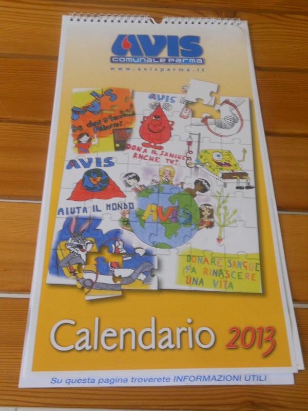 Calendario Avis.Parma In Dialetto Presentato Il Calendario 2013 Avis