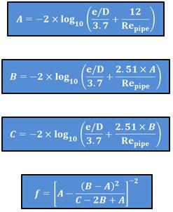 Serghides' Equations