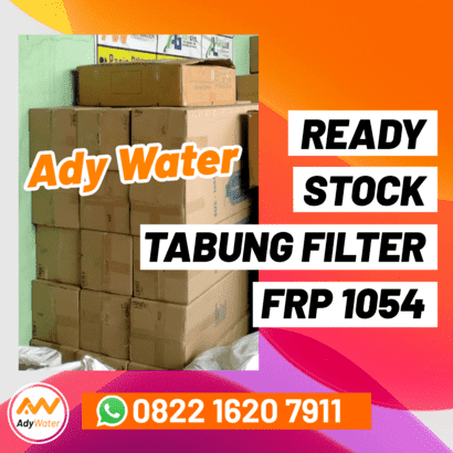 ready stock tabung filter air FRP 1054