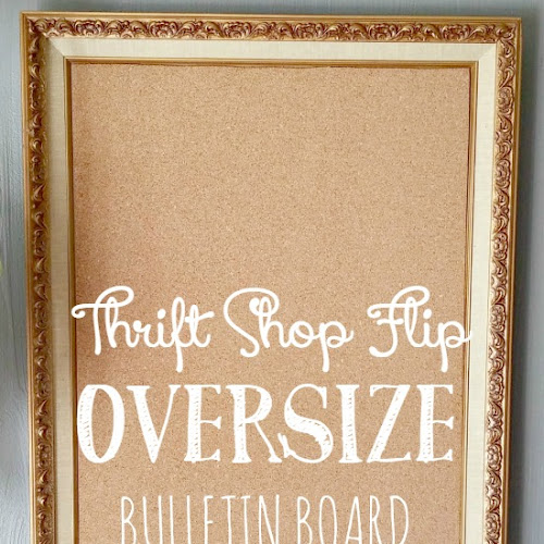 Thrift Shop Flip - Oversized Bulletin Board