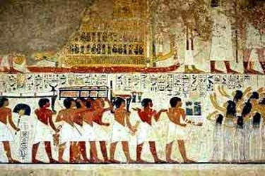 عصر بناة الأهرامات ( الدولة القديمه )