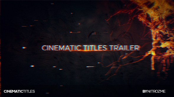 gghuio7896 VIDEOHIVE TRAILER TITLES After Effects Template download