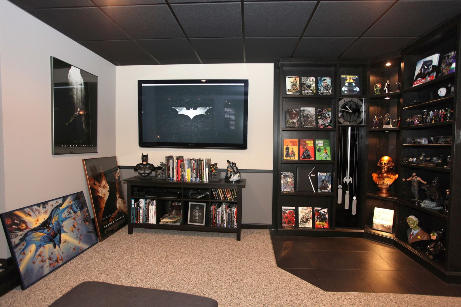 Batman Fanatic Chris Weir Is So Besotted With The Dark Knight He Invested 120 000 In Character Including A Batcave His Bat