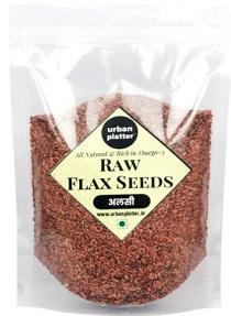 Urban platter flax seeds