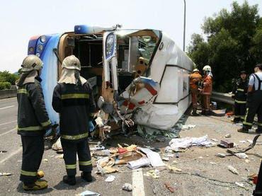 Al menos 36 personas murieron y otras 13 resultaron heridas en un accidente de autobús en un túnel en el norte de China, anunció este viernes la agencia estatal Xinhua.  AFP  El accidente se produjo este jueves a las 23H30 locales (15H30 GMT) en una autopista de la provincia de Shaanxi. El vehículo provenía de la ciudad de Chengdu (suroeste), precisó la agencia.