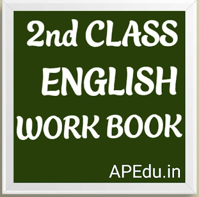 2nd Class English workbook
