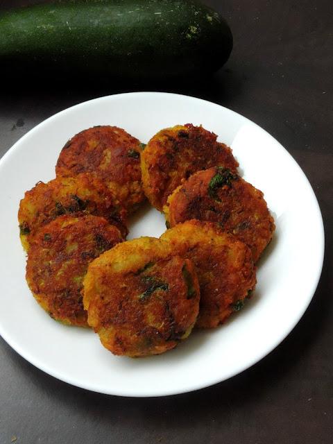 Zucchini Tikkis