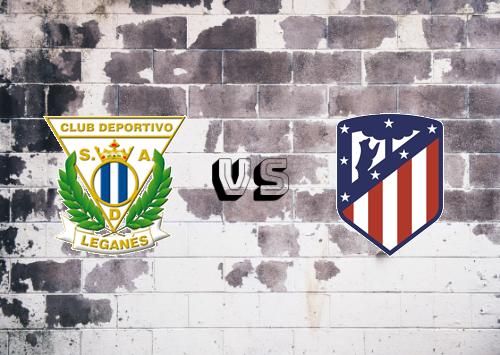 CD Leganés vs Atlético Madrid  Resumen