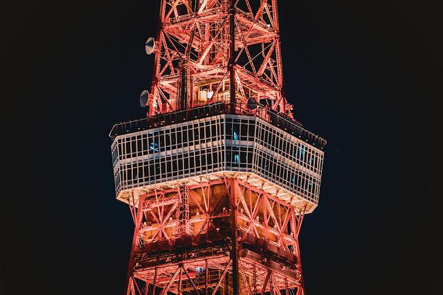 東京,夜景,東京タワー