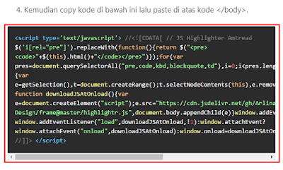 Fungsi parse html