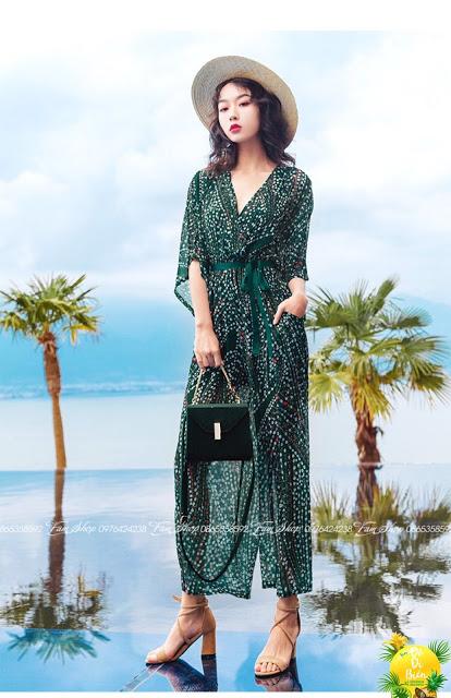Shop ban vay maxi di bien gia re o Hoang Mai