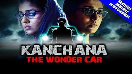 Poster Of Kanchana The Wonder Car In Hindi Dubbed 300MB Compressed Small Size Pc Movie Free Download Only At worldfree4u.com