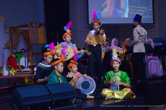 Serlahan Seni 2017 di Sekolah Seni Malaysia Johor