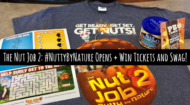 Win The Nut Job 2: #NuttyByNature tickets and swag