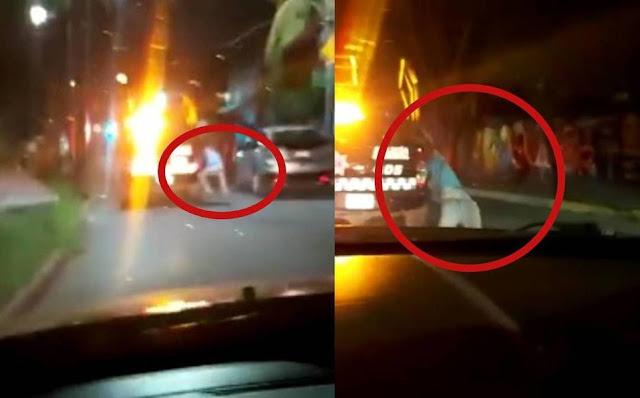 VIDEO.- Graban momento en que policías usan como tortura el arrastrar a un hombre detenido en Guanajuato tierra donde El Marro los mata