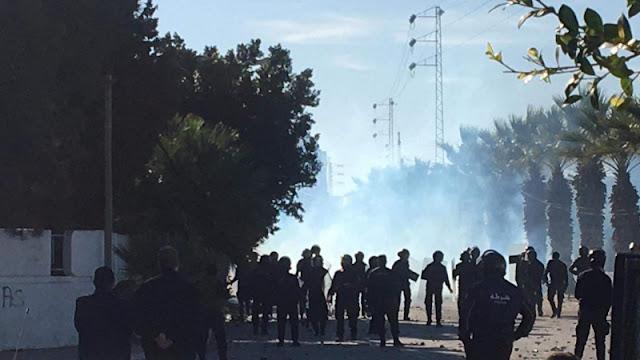 الشابة : اتحاد الشغل يندد بالعنف المفرط لقوات الأمن ويهدّد..