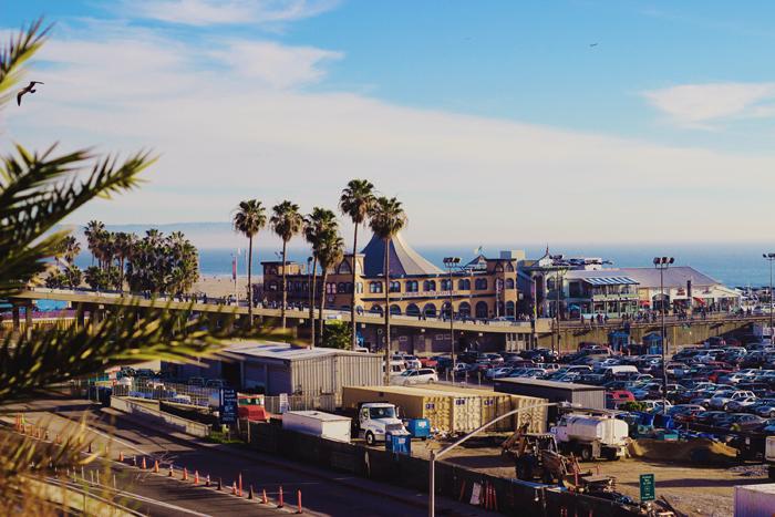 Aimerose Santa Monica Beach Pier
