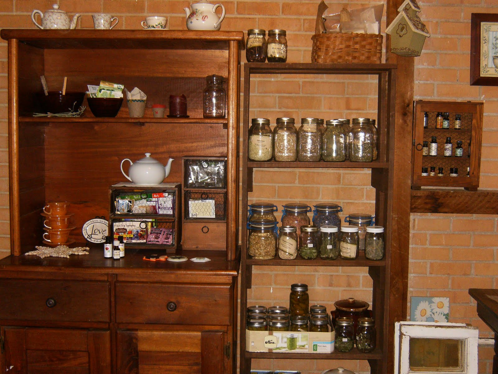 The Herbal Pantry Still Room Herbs