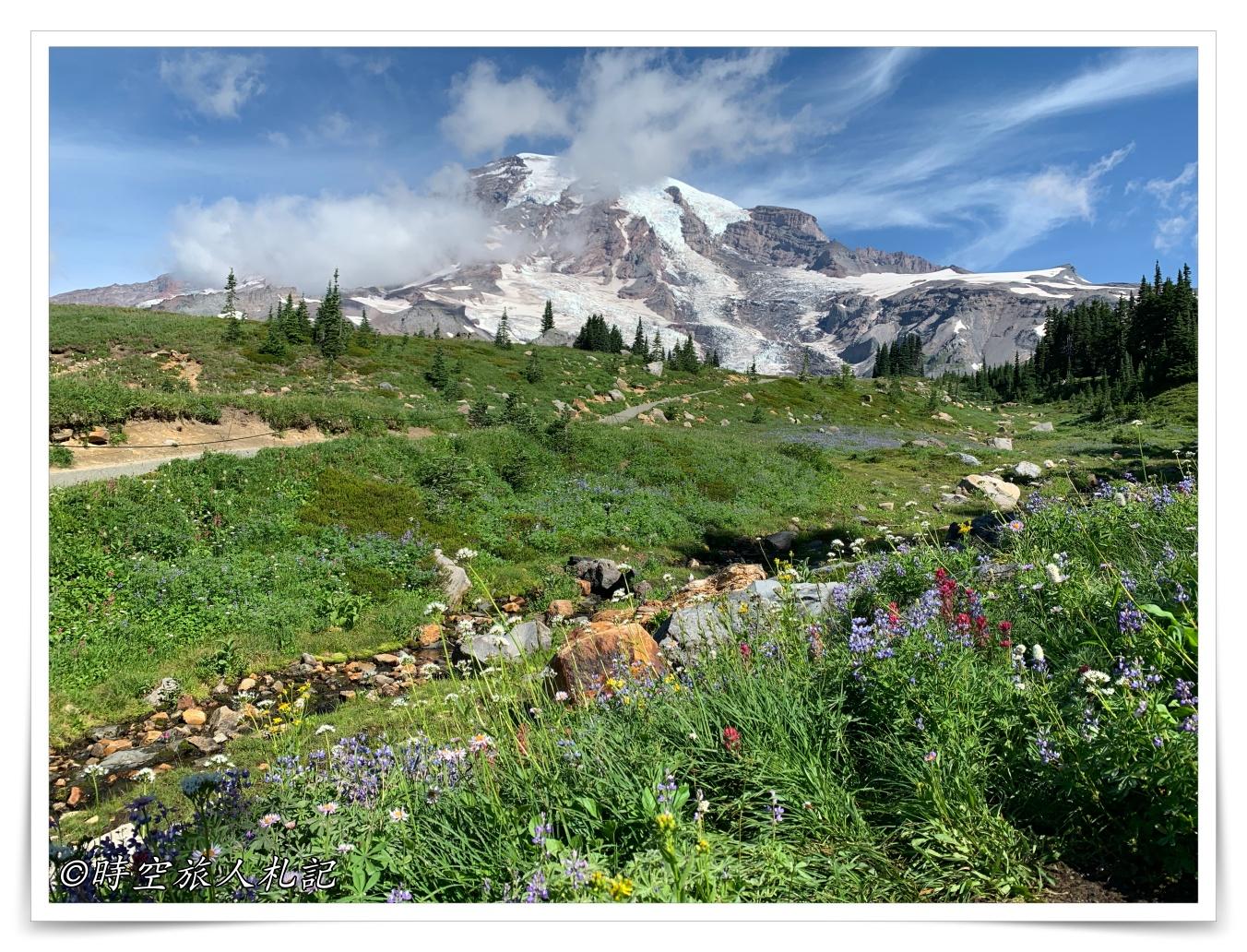雷尼爾山國家公園Mt Rainier National Park 3日遊 Day 2: Skyline trail登山記