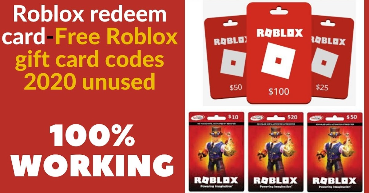 All Gift Cards Roblox Redeem Card Free Roblox Gift Card Codes