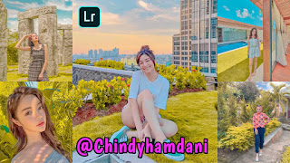 Preset Lightroom Ala Selebgram Chindy Hamdani DNG & XMP