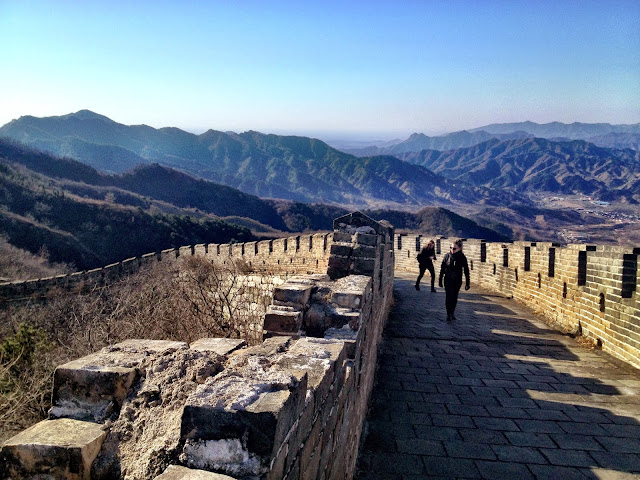 Part of the stunning Great Wall Of China