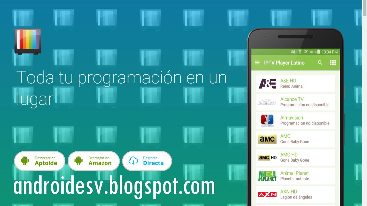 Androidesv Iptv Player Latino V1 5 Apk Televisi 243 N Gratis