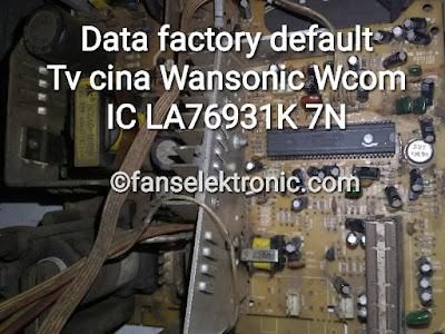 data factory tv cina wansonic wcom