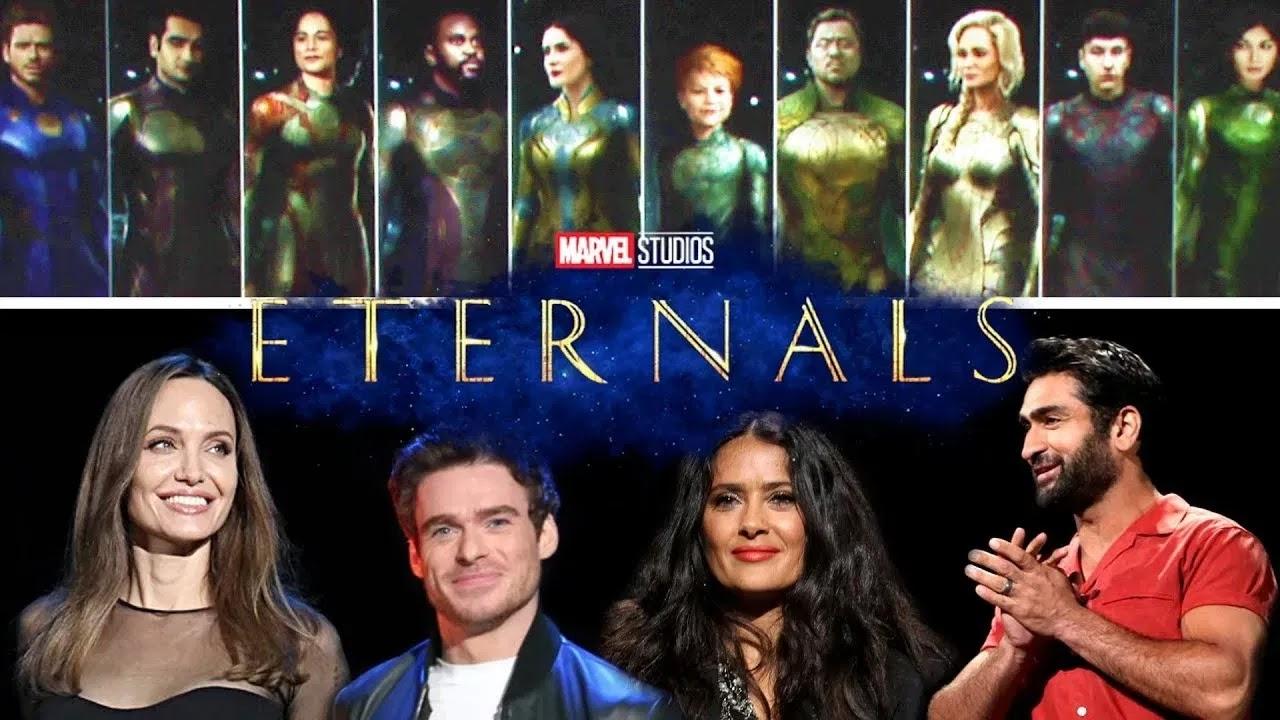 """Marvel presentó un teaser de """"The Eternals"""""""