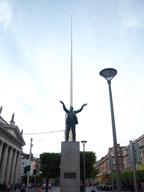 Jim Larkin & The Spire, Dublin, Ireland