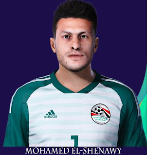 PES 2021 Faces Mohamed El-Shenawy by Rachmad ABs