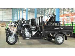 Lowongan Kerja Sales Marketing NOZOMI (Motor Roda 3)