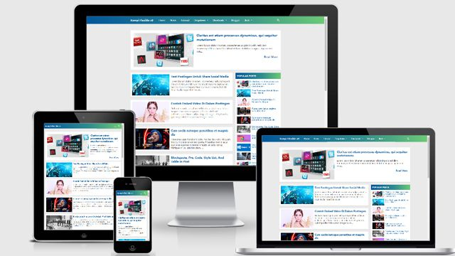 Template Kompi Flexible Non AMP Blogger