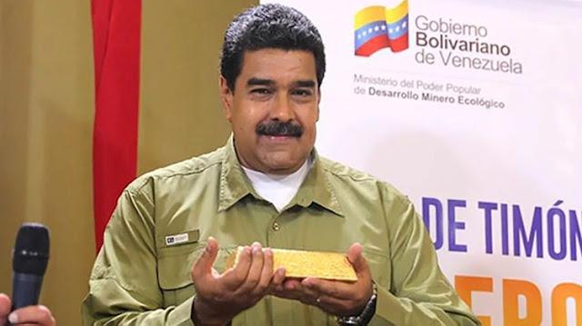 El régimen de Nicolás Maduro volvió a desafiar las sanciones internacionales y vendió otros USD 40 millones en reservas de oro
