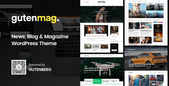 GutenMag - Gutenberg Theme for Magazine & Blog 1.1.4