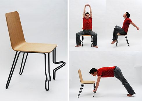 Exercices De Gym  la Maison 4  La Chaise  Ma Petite Niche