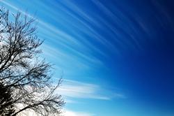 Wolkenschleierstreifen...