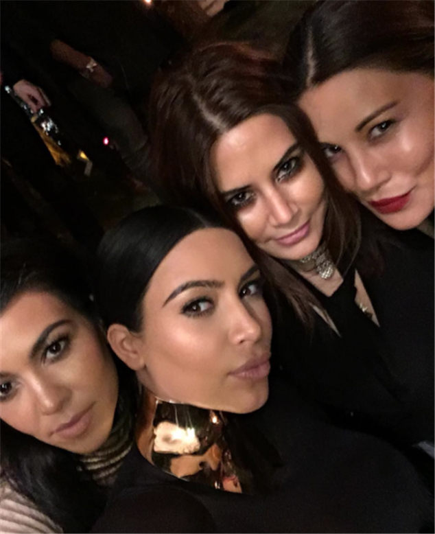 Kim Kardashian, Cara Delevingne, Jada Pinkett Smith in birthday