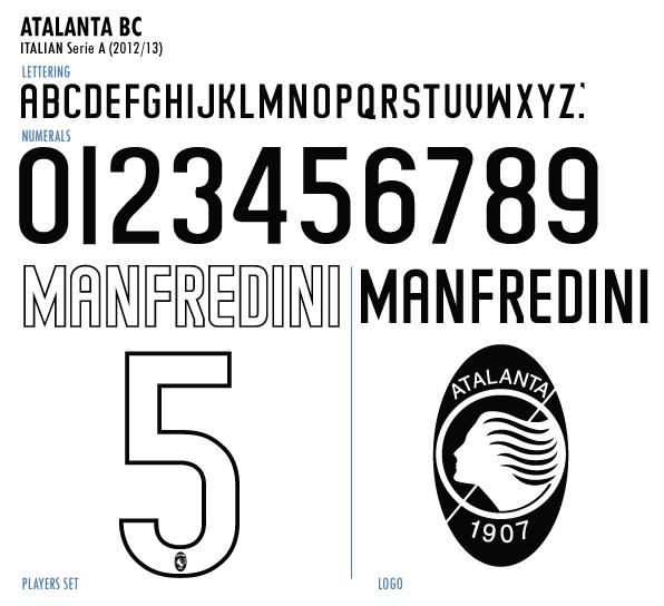 Football teams shirt and kits fan: Serie A Font-Atalanta