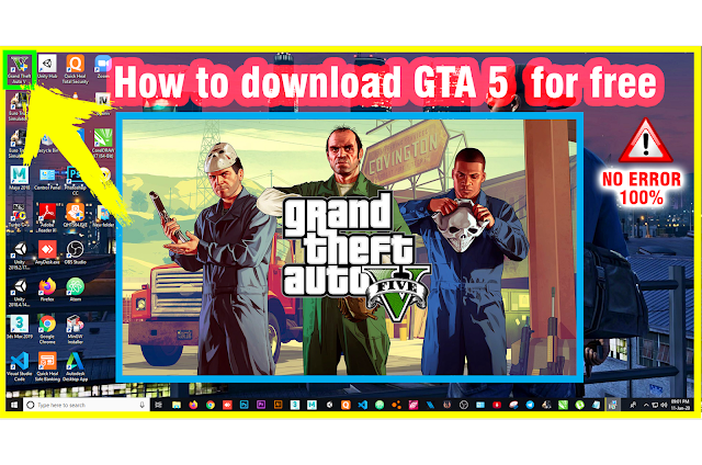 How to Download Grand Theft Auto V Reloaded GTA 5  Free (For PC)2020