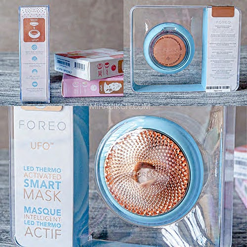 FOREO UFO in its packaging box