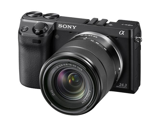 Fotografia della Sony NEX7