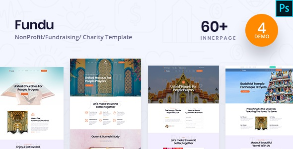 Best Charity PSD Template