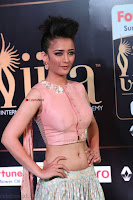 Akshara Haasan in Peach Sleevless Tight Choli Ghagra Spicy Pics ~  Exclusive 18.JPG