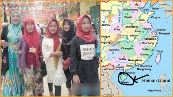 Setelah Uighur, Muslim Utsul di Provinsi Hainan Target China Selanjutnya?