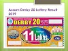 Assam Derby 20 Lottery Results - 06/06/2019 | Assam Bodoland Lotteries Result