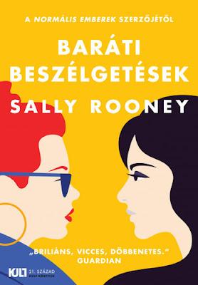 Sally Rooney – Baráti beszélgetések recenzió, kritika, könyves blog, vélemény, könyves vélemény